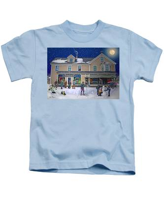 Faddens General Store In North Woodstock Nh Kids T-Shirt