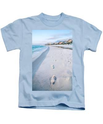 Florida Beach Scene Kids T-Shirt