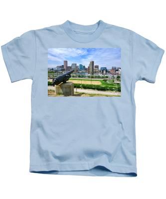 Guarding Baltimore Kids T-Shirt