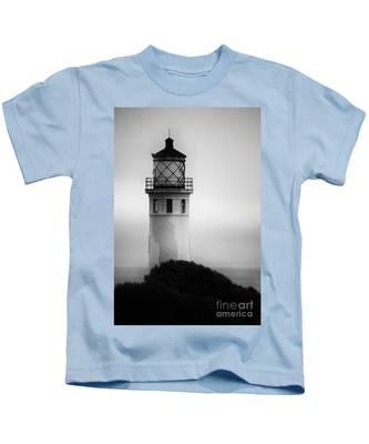 Pointe Vincente Lighthouse Kids T-Shirt
