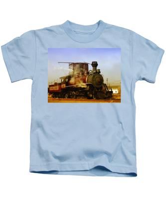 Skunk Train Kids T-Shirt