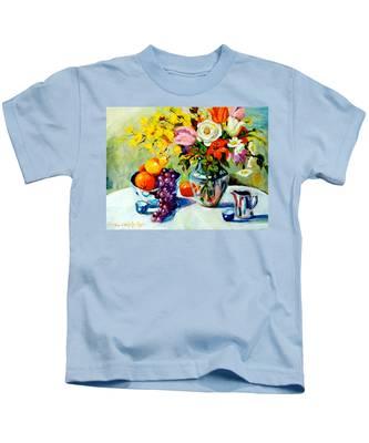 Still Life Creamer Kids T-Shirt