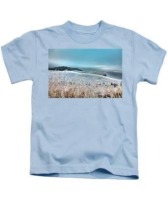 A Frosty Morning On The Palouse Kids T-Shirt