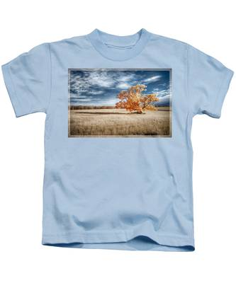 A Lone Tree Kids T-Shirt