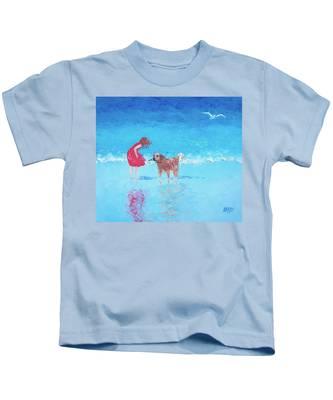 A Summer Breeze Kids T-Shirt