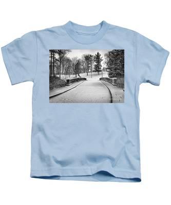 A Walk In The Snow Kids T-Shirt