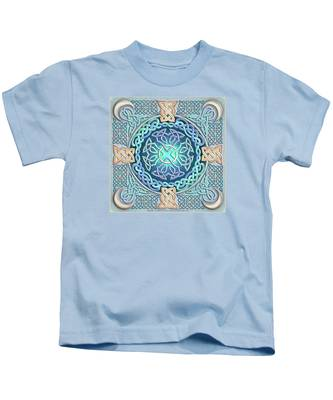 Celtic Eye Of The World Kids T-Shirt