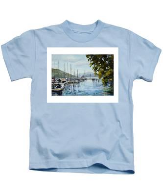 Attersee Austria Kids T-Shirt