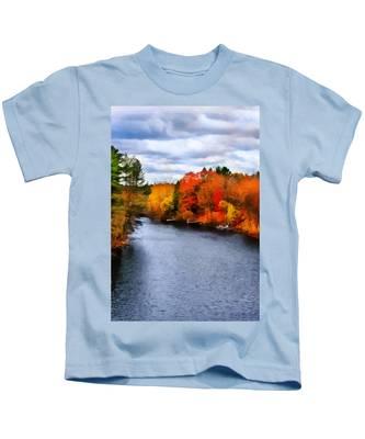 Autumn Channel Kids T-Shirt
