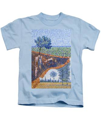 Behind The Canvas Kids T-Shirt