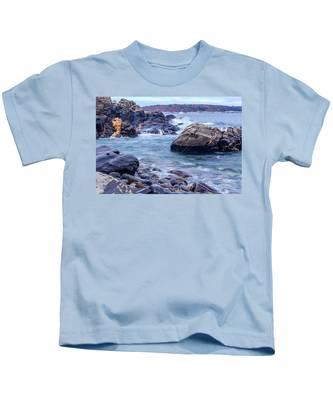 Coast Of Maine In Autumn Kids T-Shirt