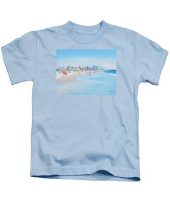 Coronado Beach San Diego Kids T-Shirt