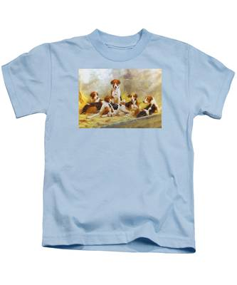 Fox Hounds Kids T-Shirt