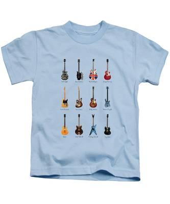 Rock N Roll George Harrison Kids T-Shirts