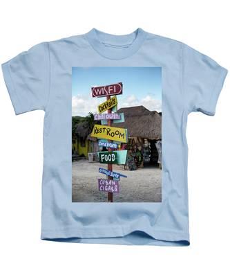 Here's What's Here 1 Kids T-Shirt