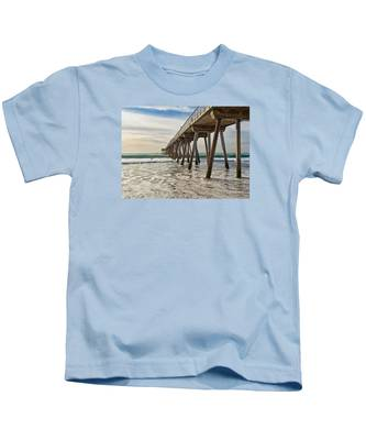 Hermosa Under The Pier Kids T-Shirt