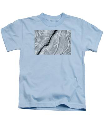 Ice Pattern Kids T-Shirt