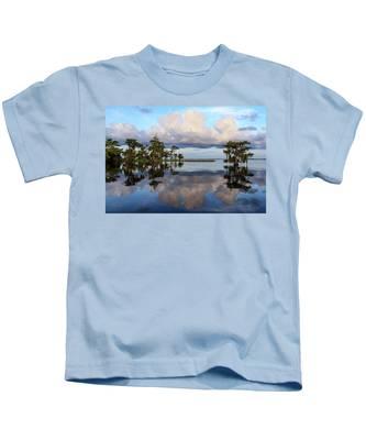 Lake Mirror Kids T-Shirt