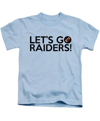 Let's Go Raiders Kids T-Shirt