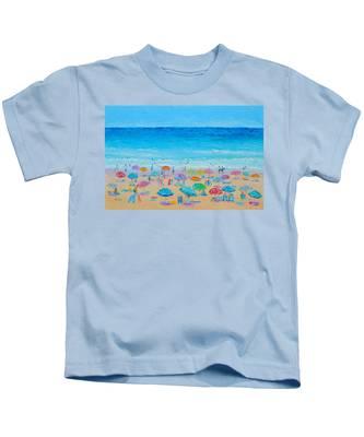 Life On The Beach Kids T-Shirt