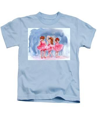 Little Ballerinas Kids T-Shirt