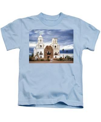 Mission San Xavier Del Bac Kids T-Shirt