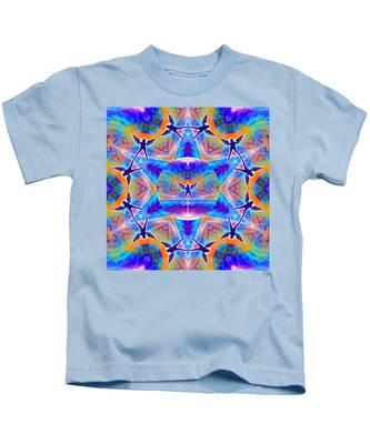 Mystic Universe Kk 15 Kids T-Shirt by Derek Gedney