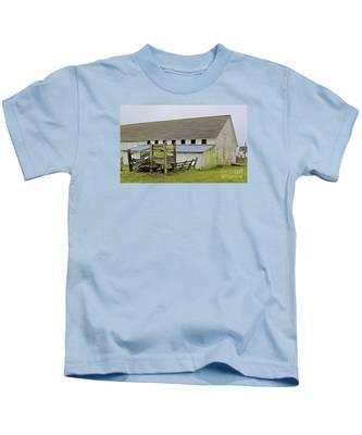 Pierce Pt. Ranch Barn Kids T-Shirt