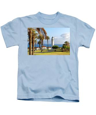 Point Vicente Lighthouse Kids T-Shirt