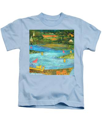 Sunset Sails 2 Kids T-Shirt