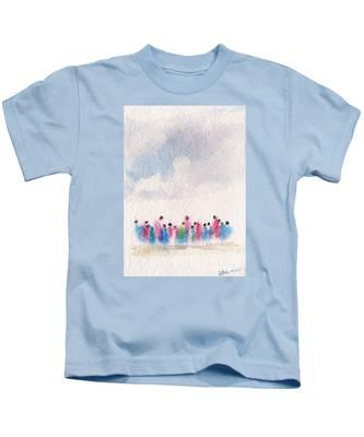The Drifting People Kids T-Shirt