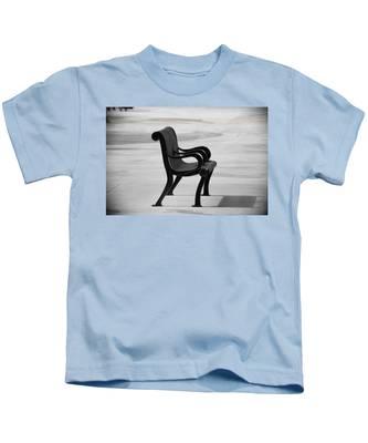 The Pier Bench Kids T-Shirt