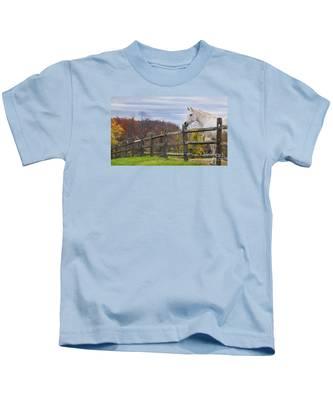 The White Horse Kids T-Shirt