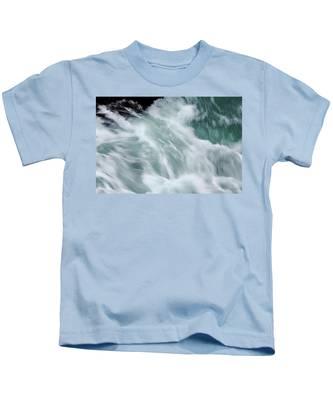 Turbulent Seas Kids T-Shirt