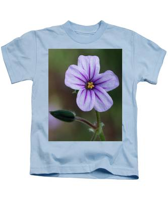 Wilderness Flower 3 Kids T-Shirt