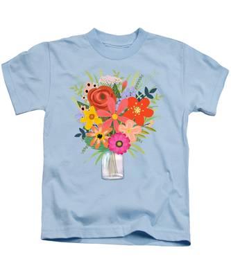 Wildflowers Kids T-Shirts
