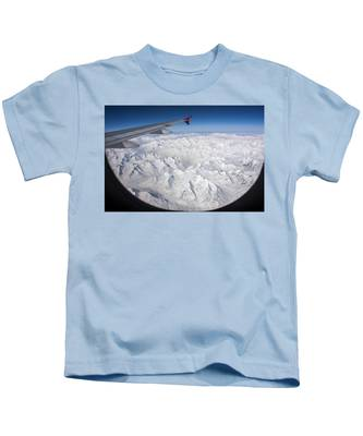 Window To Himalaya Kids T-Shirt