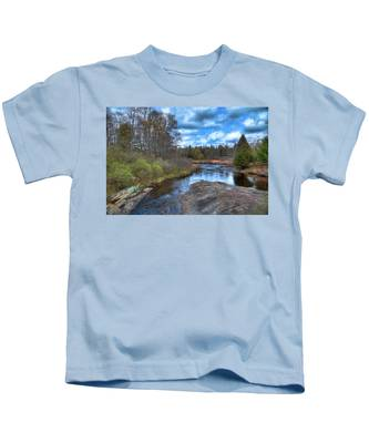 Woodhull Creek In May Kids T-Shirt