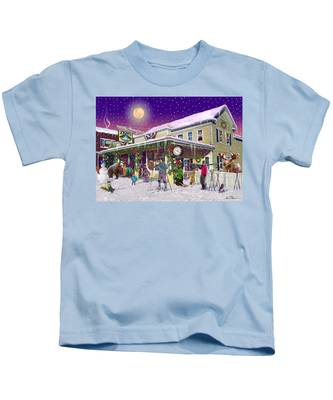 Zebs General Store In North Conway New Hampshire Kids T-Shirt