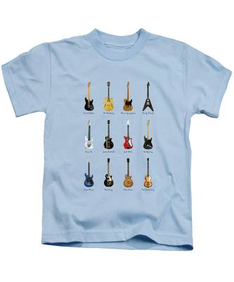 Rock And Roll Paul Mccartney Kids T-Shirts
