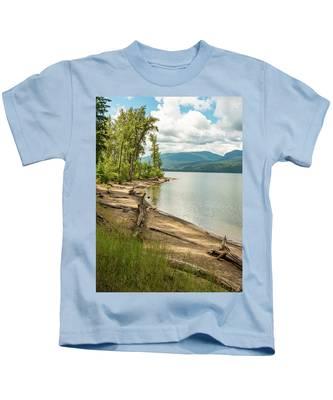 Beach Driftwood Kids T-Shirt