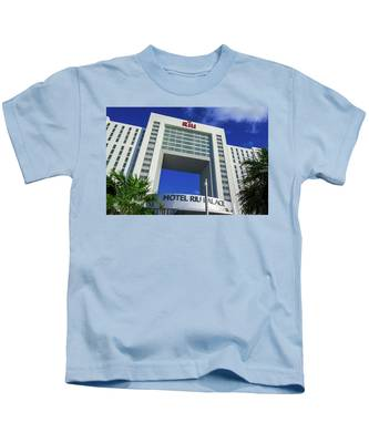 Hotel Riu Palace In Cancun Kids T-Shirt