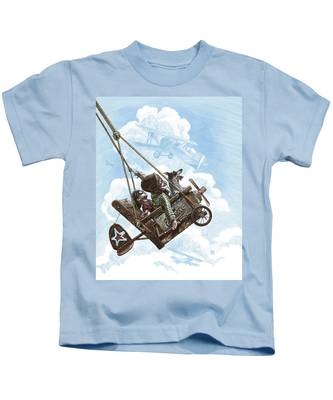 I Want To Fly Kids T-Shirt