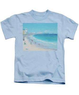 Myrtle Beach And Springmaid Pier Kids T-Shirt
