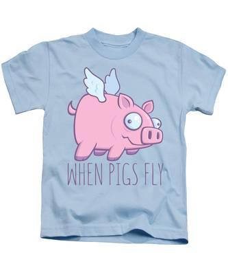 Rural Scene Kids T-Shirts