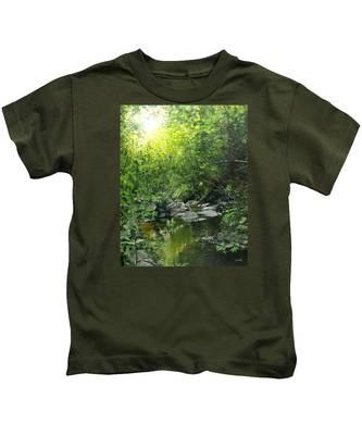 A Road Less Traveled Kids T-Shirt