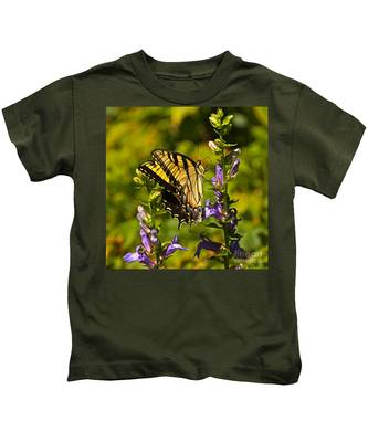 A Warm September Day In The Garden Kids T-Shirt