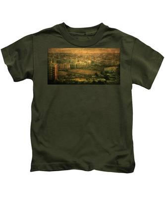 Al-khobar On Texture Kids T-Shirt