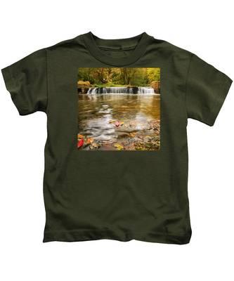 Autumn At Valley Creek Kids T-Shirt