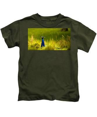 Bronx Zoo Peacock Kids T-Shirt
